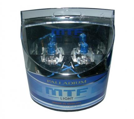 Комплект галогенных ламп MTF Light Palladium H3 55W 12V
