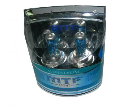 Комплект галогенных ламп MTF Light Vanadium H11 55W 12V
